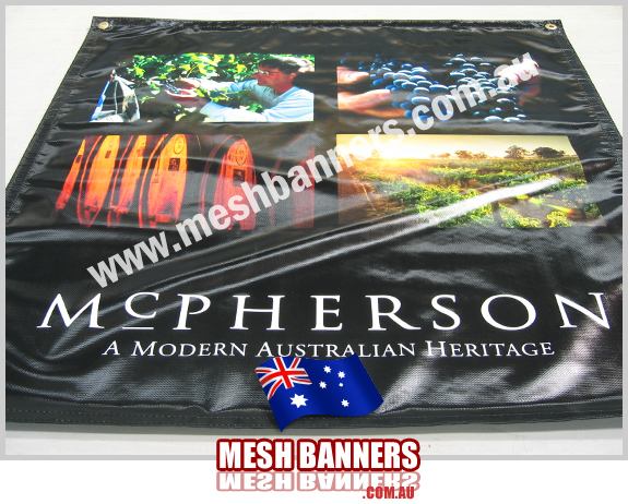 McPherson - Heavy Duty Banner