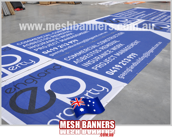 International banners England banner sign and fence mesh sign supplier